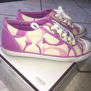 Coach Sneakers Pink/Likac/Mauve/Purple